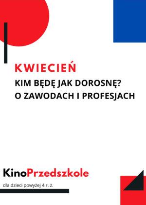 KinoPrzedszkole. Dostęp 19-25.04.2021
